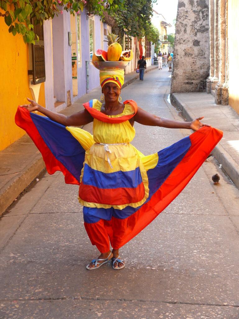 Palenquera de Cartagena de Indias