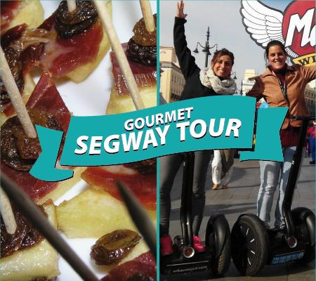 Sorteo Segway Tour Gourmet