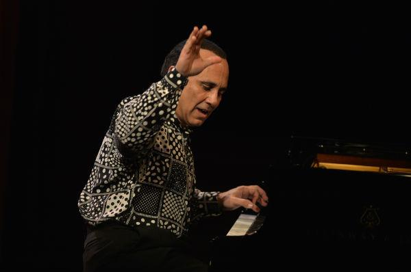 Michel Camilo al piano