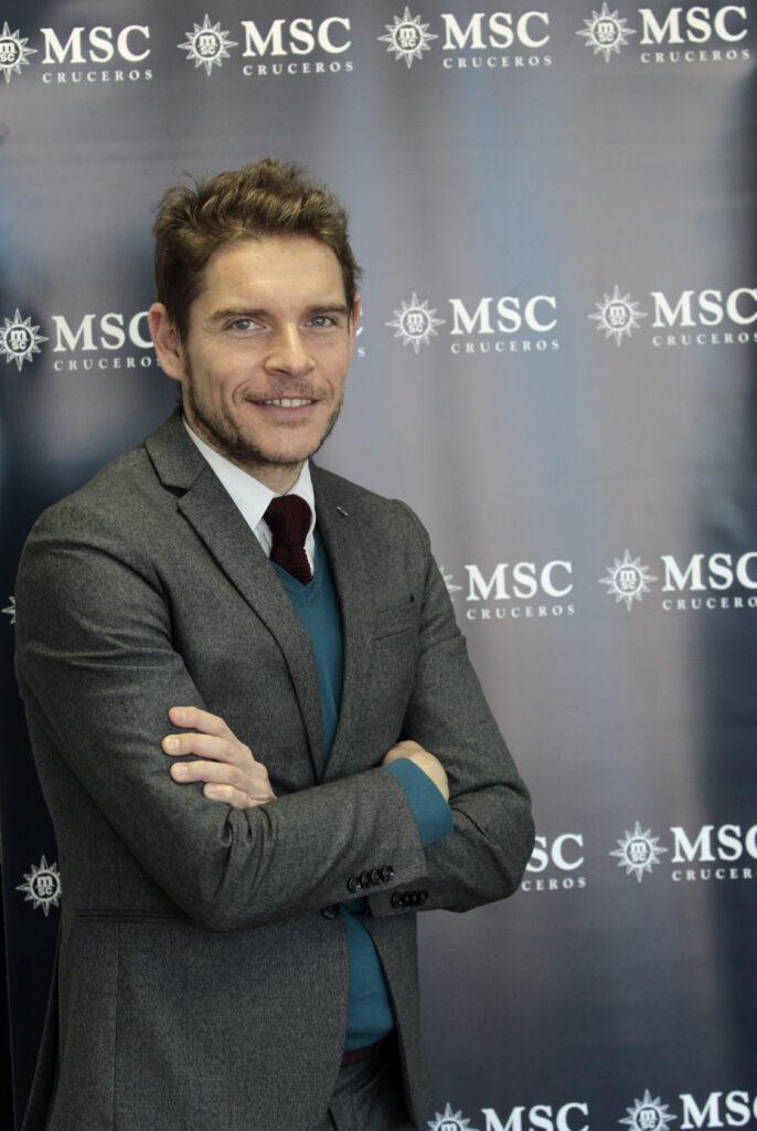 Fernando Pacheco, Director General Adjunto de MSC Cruceros en España