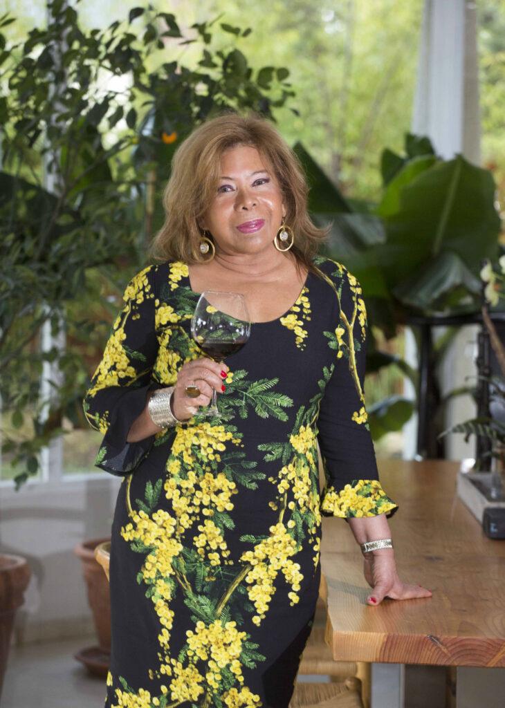Sonia Prince de Galimberti: presidenta de AMAVI, Asociación para mujeres Amantes de la Cultura del Vino.