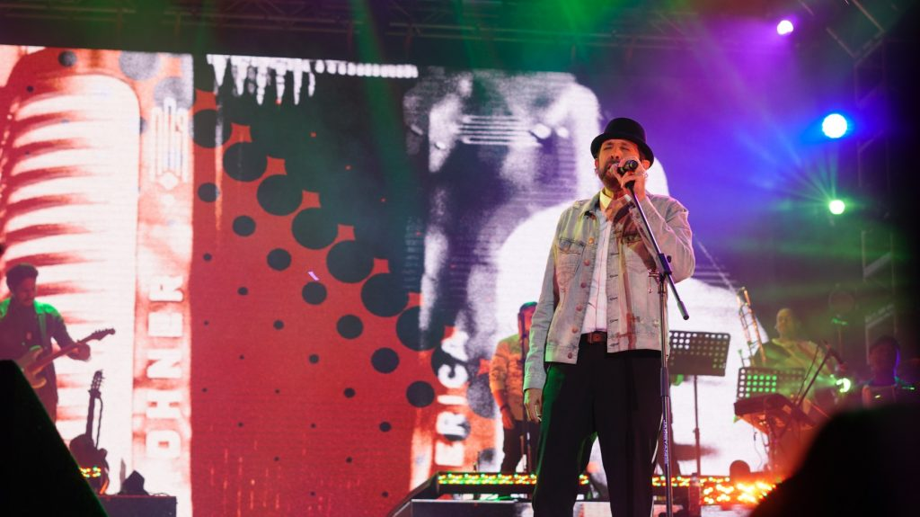 Juan Luis Guerra en concierto