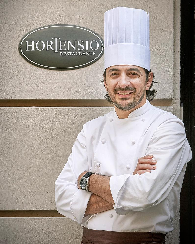 Restaurante Hortensio: Conversación con Chef Mario Valles