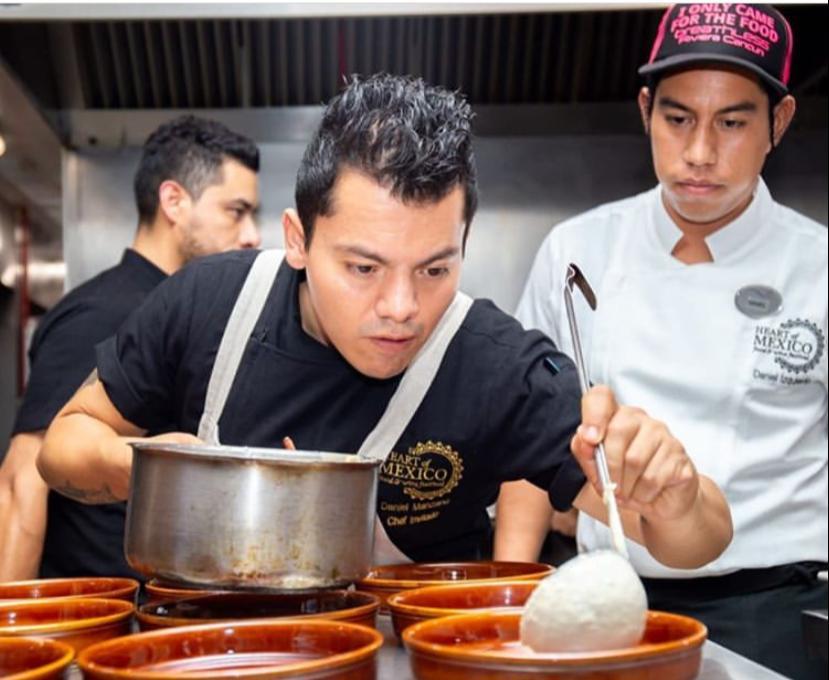Chef Daniel Manzano Cebiche Mexicano