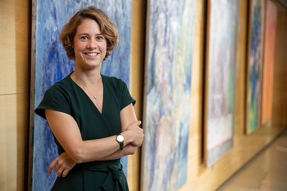 Stephanie García Van Gool, directora de Medición de Impacto y Desarrollo Estratégico FMBBVA